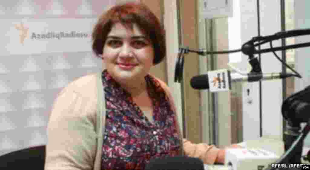 Khadija Ismayilova RFE/RL