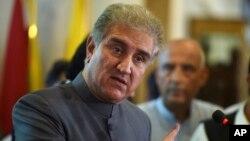 شاه محمود قریشی وزیر امور خارجه پاکستان - آرشیو