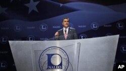 El candidato republicano Mitt Romney prometió una reforma migratoria permanente de llegar a la presidencia.