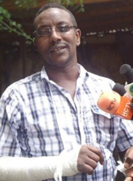 Armed gunmen attacked Mohamed Ahmed Jama, the owner of the Hubaal Media Network in Somaliland on April 30. (Hubaal Media Network)