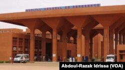 L'hôpital général de référence, Niamey, 3 septembre 2018. (VOA/Abdoul-Razak Idrissa)