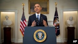 Đây là cuộc họp báo tại Tòa Bạch ốc đầu tiên của Tổng Thống Obama, kể từ khi Đảng Dân Chủ của ông bị đánh bại trong các cuộc bầu cử quốc hội hồi tháng 11 vừa rồi.