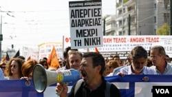 En Atenas, los trenes, autobuses y tranvías se mantienen detenidos en la capital griega 24 horas.