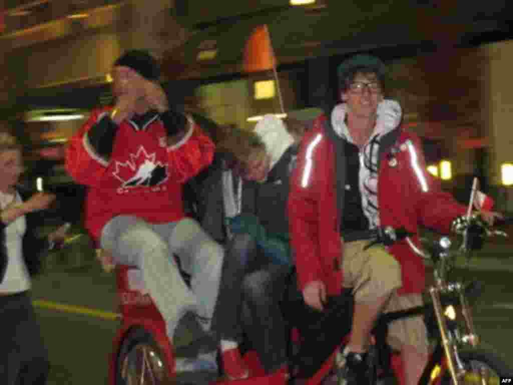 Ванкувер отмечает победы