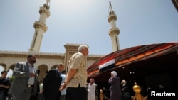 دمشق میں واقع ایک مسجد۔ فائل فوٹو