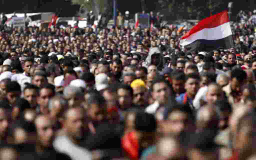 Hoy es día de celebración en Egipto.