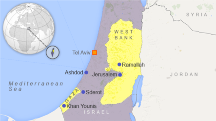Căng thẳng tăng cao từ tháng 6 khi 3 thiếu niên Israel bị các phần tử chủ chiến Palestine bắt cóc và giết chết ở Khu Bờ Tây.