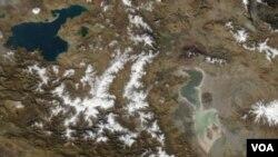 Peykdən baxış: Van Gölü və Urmiyə Gölü