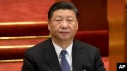 တ႐ုတ္ႏိုင္ငံ သမၼတ Xi Jinping (မတ္၊ ၁၂၊ ၂၀၁၉)