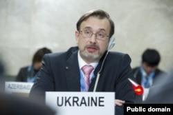 FILE - Ukraine's U.N. Ambassador in Geneva Yurii Klymenko (photo: mfa.gov.ua)