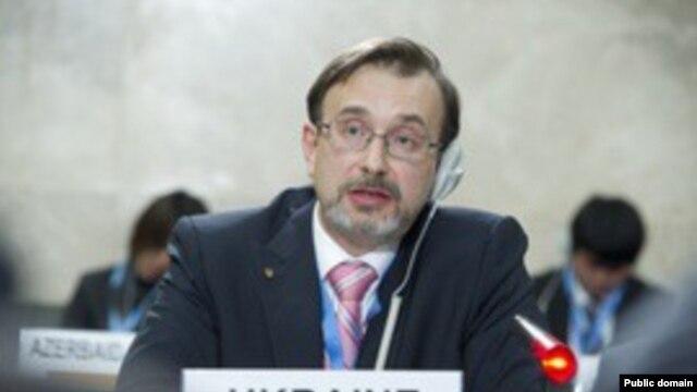 Đại sứ Ukraina tại Liên hiệp quốc Yurii Klymenko nói Ukraina đang trong tình trạng cảnh giác cao độ nhất để bảo vệ chủ quyền và toàn vẹn lãnh thổ bằng mọi giá