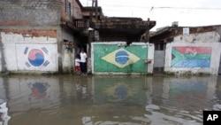 Centenas de mortes em cheias no Brasil