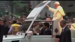 2013-07-23 美國之音視頻新聞: 教宗方濟各抵巴西訪問受到熱烈歡迎