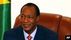 L'ancien président du burkina Faso Blaise Compaoré
