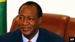 L'ex-président Blaise Compaoré