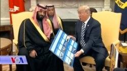VOA Correspondants du 21 mars 2018 sur la visite du prince Ben Salman à Washington