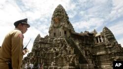 Kompleks Candi Angkor Wat di Kamboja, 230 kilometer sebelah barat laut Phnom Penh, Kamboja (Foto: dok).