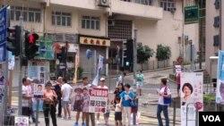 香港选民今日投票选举新一届立法会