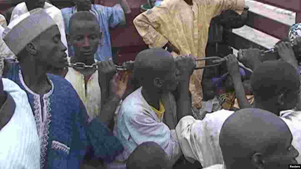 'Yan gudun hijirar da Boko Haram ta rabasu da gidajen su.