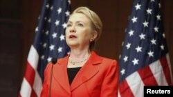 Sakatariyar harkokin wajen Amurka Hillary Clinton