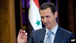 بشار اسد رئیس جمهوری سوریه - آرشیو