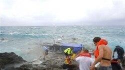 در برخورد یک قایق به صخره ها در اقیانوس هند، ۲۷ پناهجو کشته شدند