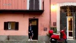 意大利的美国人自我调整以适应新冠疫情