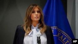 Mke wa rais wa Marekani, Melania Trump.