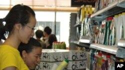 大陸遊客在香港購物