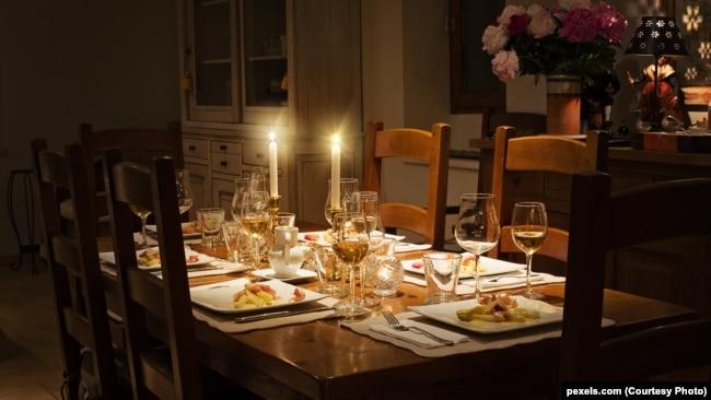 Вечеря при свічках