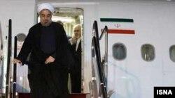 د ایران ولسمشر حس روحانی استانبول ته تللی دی