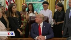 Nadia Murad ji Trump Xwest ku Pêş Vegera Şengalê Veke