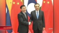 Thủ tướng Lào tới TQ, theo chân Philippines, Malaysia