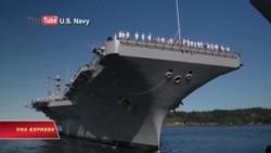 Tàu sân bay Mỹ về nước sau khi 'thị uy' TQ ở biển Đông