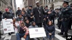 華盛頓發生反川普抗議