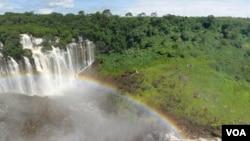Angola Malanje Quedas de Kalandula