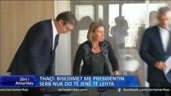 Thaçi komenton për bisedimet me Serbinë