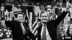 Reyqan/Buş komandası 1980 seçkilərində inamlı qələbə çalaraq ABŞ-ın siyasi kursunu dəyişdilər.