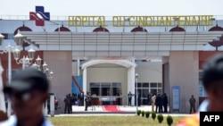 Lopitalo ya Cinquantenaire na Kinshasa, 22 mars 2014.