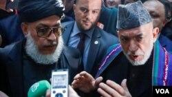 حامد کرزی و شمار دیگر از چهرههای سیاسی افغان با نمایندگان طالبان در مسکو دیدار میکنند