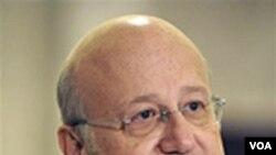 Calon Perdana Menteri baru Lebanon yang didukung Hizbullah, Najib Mikati.