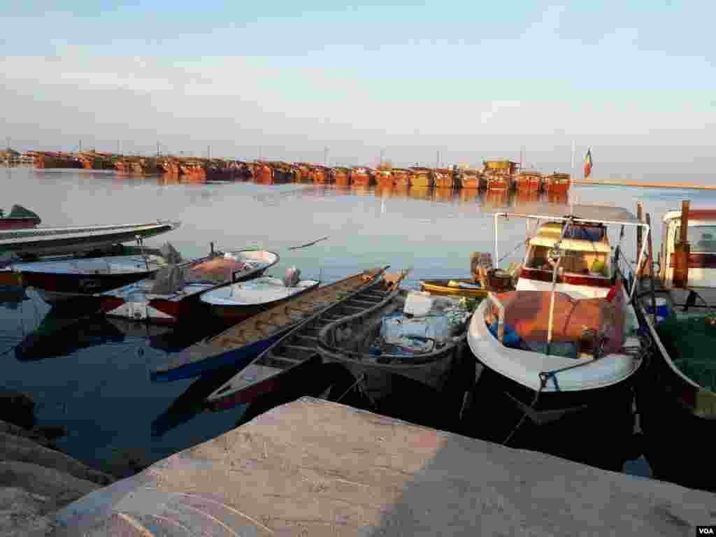 اسکله صیادی جفره، بوشهر عکس: نازگل (ارسالی شما)