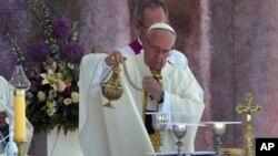 Папа Римский Франциск. Польша, 31 июля 2016.