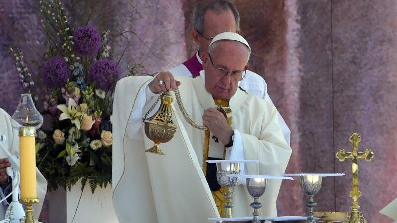 папа франциск призвал поверить новое человечество отвергающее ненависть