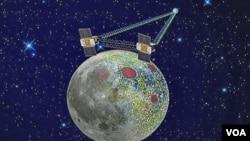 Las dos sondas estaban programadas para entrar en órbita alrededor de la Luna el fin de semana de Año Nuevo.