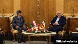 دیدار وزیر خارجه عمان با محمدجواد ظریف در تهران