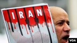 Demo anti hukuman gantung dari sebuah kelompok HAM yang berkantor pusat di Amerika.