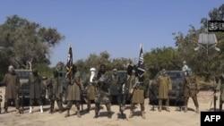 Abubakar Shekau da mayakan Boko Haram