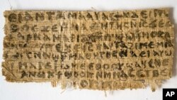 The ancient piece of papyrus suggests that Jesus was married
