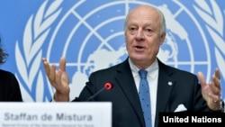 BM Suriye Özel Temsilcisi Staffan de Mistura